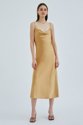 C/Meo ENTWINE DRESS Gold