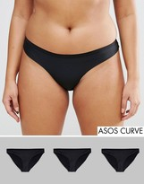 Asos 3 Pack Seam Free Brazilian Pants