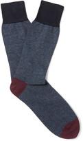 Kingsman - + Corgi Striped Cotton-blend Socks