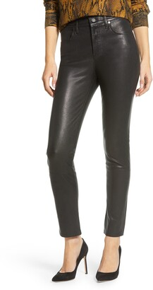 Citizens of Humanity Harlow Ankle Slim Lambskin Leather Pants