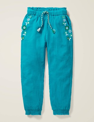 Detailed Holiday Trousers