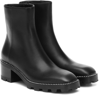 Jimmy Choo Maya 35 leather ankle boots