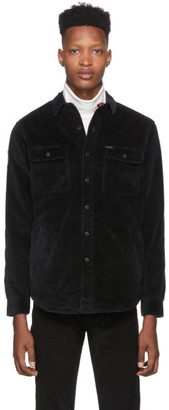 Polo Ralph Lauren Black Corduroy Overshirt