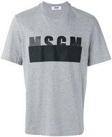 MSGM logo print T-shirt - men - Cotton - M