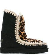 Mou 'Leopard Eskimo' boots