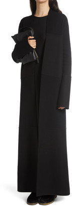 The Row Ariane Multi Panel Cashmere & Wool Blend Long Coat
