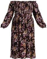 City Chic VINTAGE FLORAL Maxi dress vintage floral