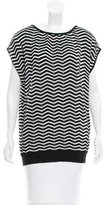 M Missoni Zig Zag Patterned Top