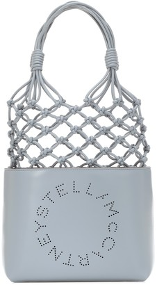 Stella McCartney Stella Logo faux-leather tote