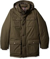 Tommy Hilfiger Men's Tall Size Performance Hooded Field Coat