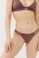 Vitamin A Neutra Metallic Hipster Bikini Bottom