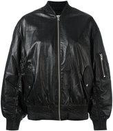 IRO bomber jacket - women - Rayon/Lamb Fur - 36