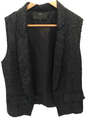 Et Vous Black Glitter Jacket for Women