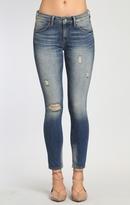 Mavi Jeans Adriana Ankle Super Skinny In Mid Shaded Glam Vin