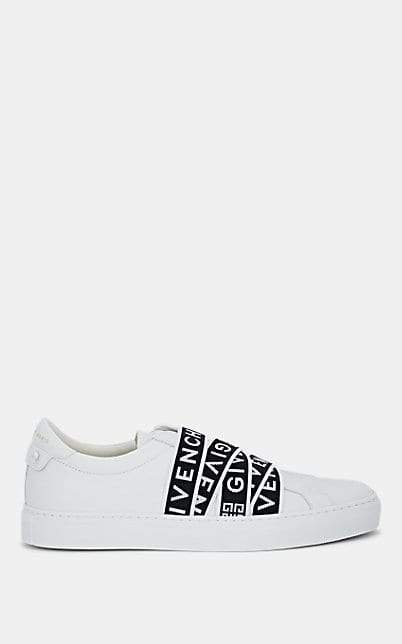 Givenchy Men's Urban Street Leather Sneakers - White