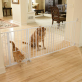 Carlson Pet Maxi Pet Gate with Pet Door