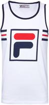 Fila White Printed Vest