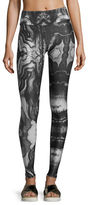 Alo Yoga Tech Lift Airbrush Sports Leggings, City Lights