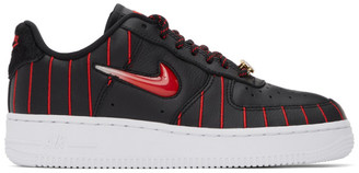 Nike Black Air Force 1 Jewel Sneakers