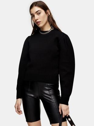 Topshop PUCycling Shorts - Black