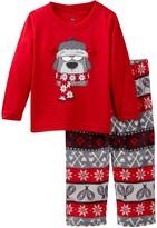 Petit Lem Snow Dog Pajama Set (Baby Boys)