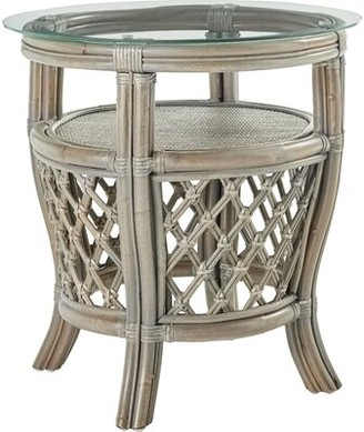 Bay Isle Home Stowers End Table Color: Willow