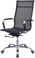 Hodedah HI-2006 Import Mesh Mid Back Office Chair