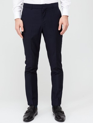 Very Man StretchSlim Suit Trousers - Navy