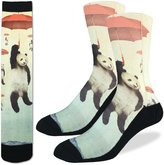 Good Luck Sock Men's Panda Socks