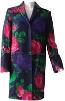 MSGM Multicolour Wool Coats