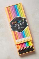 Chronicle Books Bright Ideas Neon Pencils