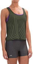 Under Armour Fly-By 2.0 Middy Graphic Tank Top (For Women)