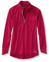 L.L. Bean Women's Trail Tech Quarter-Zip, Stripe