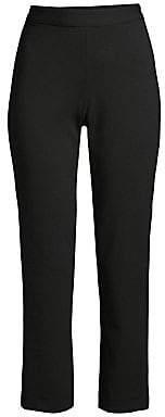 Josie Natori Women's Compact Knit Ankle Pants