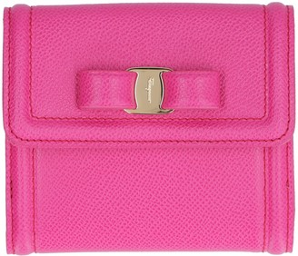 Salvatore Ferragamo Vara Bow Leather Wallet