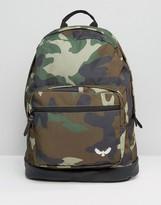 Brave Soul Bravesoul Camo Backpack With Front Pocket