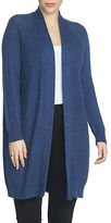 Chaus Cable Stitch Long Cardigan