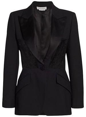 Alexander McQueen Corset Lace Jacket