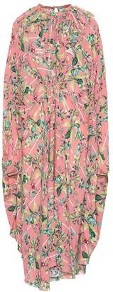 Vetements Printed crApe dress