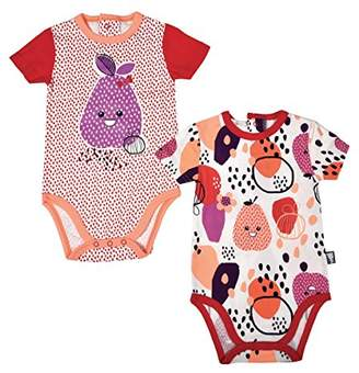 Camilla And Marc Set of 2 Short Sleeved Baby Girl's Bodysuits - Size 36 Months (98 cm)