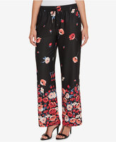 Tommy Hilfiger Floral-Print Wide-Leg Pants, Created for Macy's