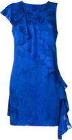 Diane von Furstenberg ruffle mini dress