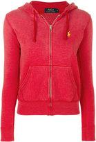 Polo Ralph Lauren logo zipped hoodie