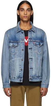 Levi's Levis Blue Denim Vintage Fit Trucker Jacket