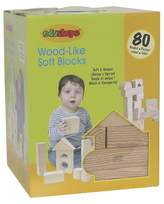 Edushape Wood-like 80 pc Firm Foam Blocks