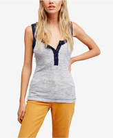 Free People Time Out Henley Tank Top