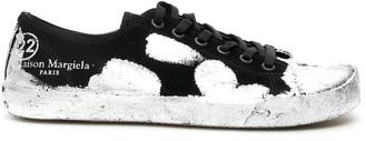 Maison Margiela Tabi Paint Splatter Effect Sneakers