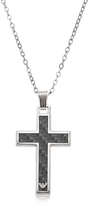 Emporio Armani Silver Tone Stainless Steel Men's Necklace