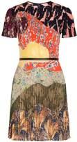 Valentino Floral Printed Mini Dress