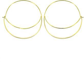 Panacea Double Hoop Earrings